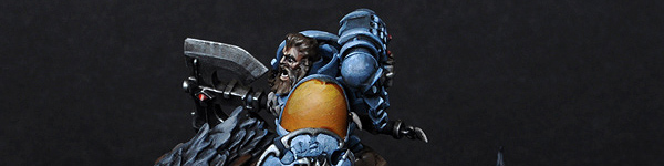 Space Wolves Thunderwolf