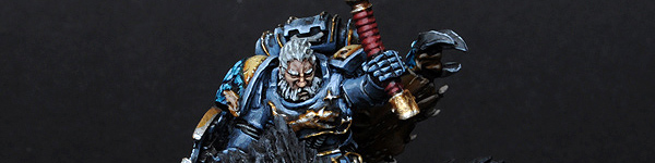 Space Wolves Thunderwolf Lord