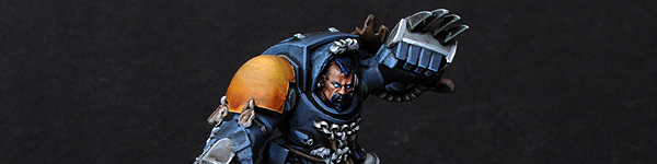 Space Wolves Guard with Wolf Claws
