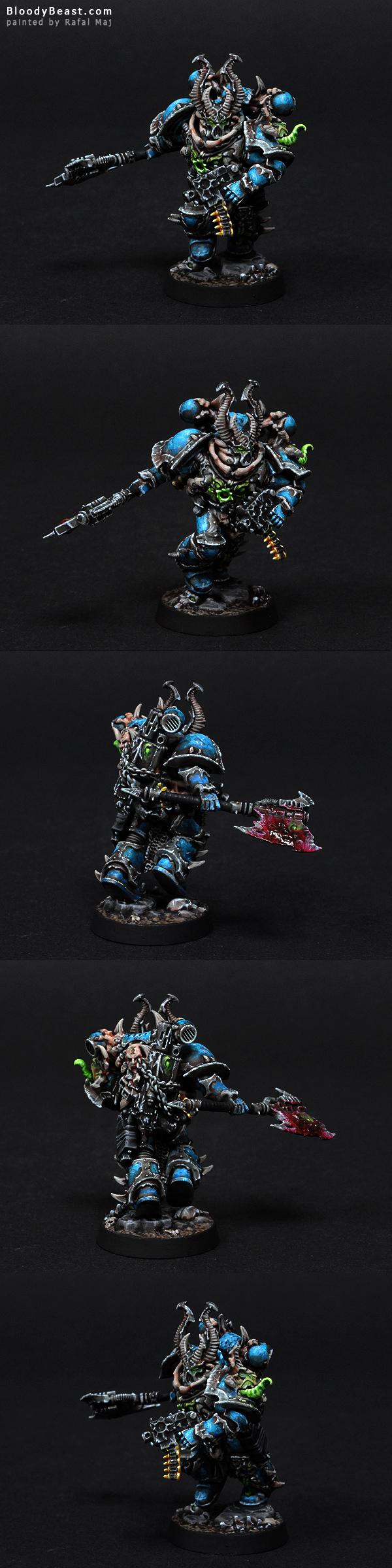 Alpha Legion Champion painted by Rafal Maj (BloodyBeast.com)