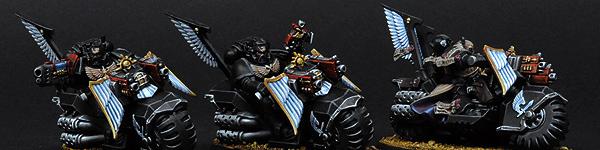 Dark Angels Ravenwing Bike Squad