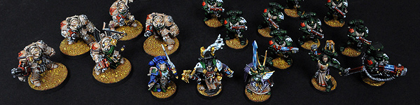 Dark Vengeance Dark Angels Army