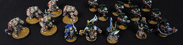 Dark Vengeance Dark Angels Army