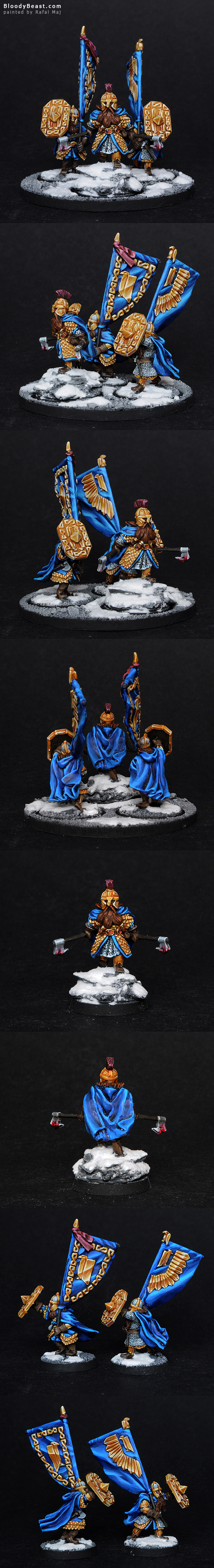 Durin's Folk King's Champion painted by Rafal Maj (BloodyBeast.com)