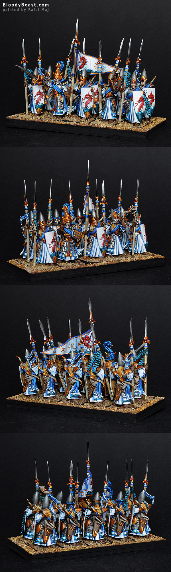 High Elf Lothern Sea Guard painted by Rafal Maj (BloodyBeast.com)