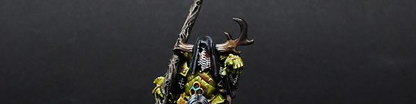 Nurgle Chaos Sorcerer on Daemonic Mount