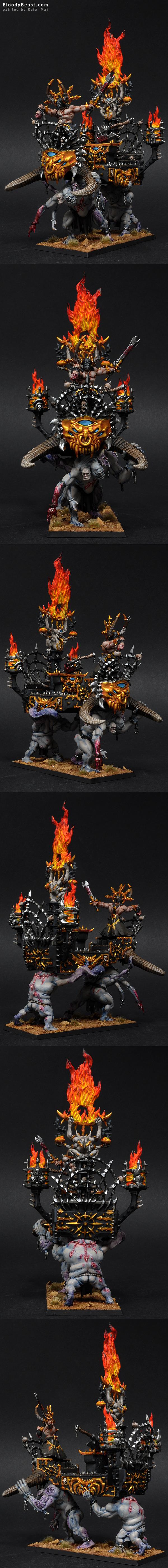 Warshrine of Chaos Undivided painted by Rafal Maj (BloodyBeast.com)