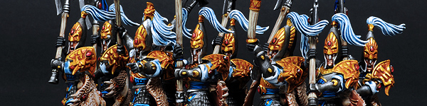 High Elf White Lions of Chrace