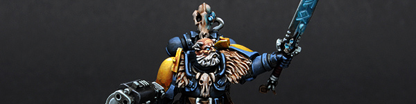 Space Wolves Rune Priest