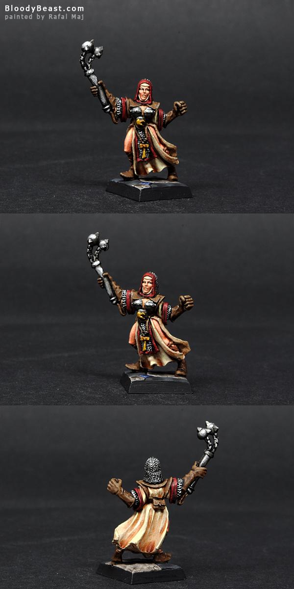 Sister of Sigmar Sister Superior painted by Rafal Maj (BloodyBeast.com)