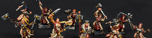 Sisters of Sigmar Warband