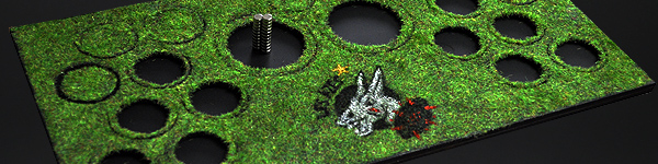 Blood Bowl Magnetic Display Base