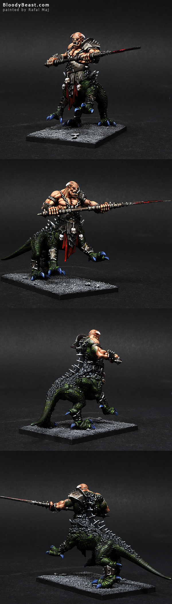 Dragon Ogre painted by Rafal Maj (BloodyBeast.com)