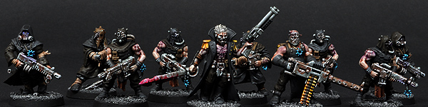 Chaos Cultists with Autoguns