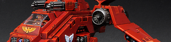 Blood Angels Stormraven Gunship