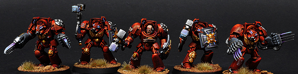Blood Angels Terminator Close Combat Squad