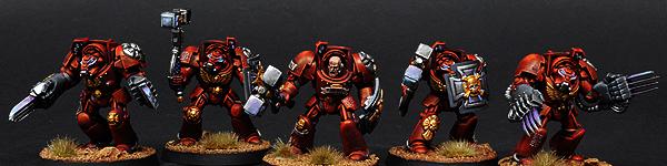 Blood Angels Terminator Close Combat Squad