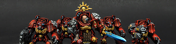 Blood Angels Terminator Squad