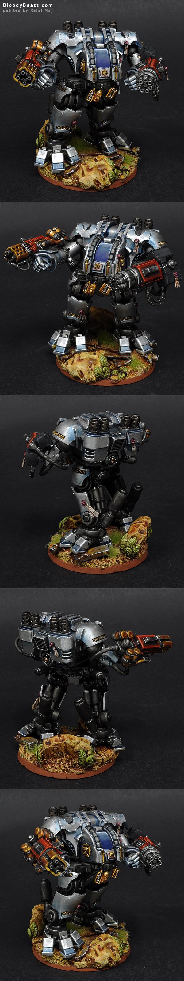 Grey Knights Dreadnought painted by Rafal Maj (BloodyBeast.com)