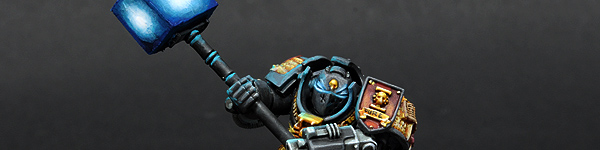 Grey Knight with Nemesis Daemon Hammer