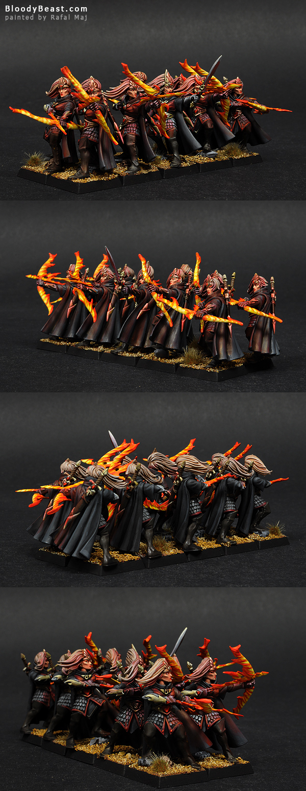 High Elf Maiden Guards Of Avalorn painted by Rafal Maj (BloodyBeast.com)