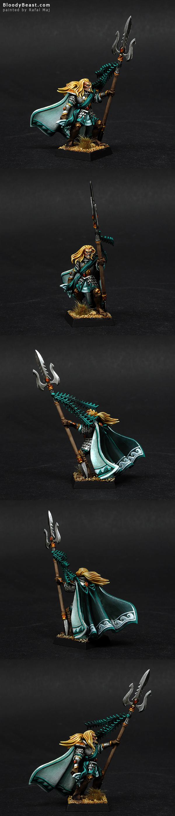 High Elves Lothern Sea Helm painted by Rafal Maj (BloodyBeast.com)