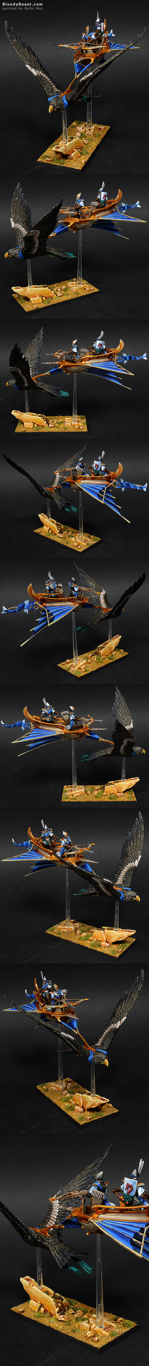 High Elves Lothern Skycutter painted by Rafal Maj (BloodyBeast.com)