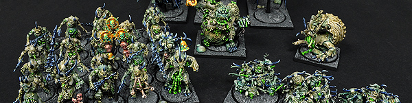 Nurgle Daemons of Chaos Army