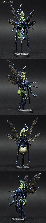 Plague Drone of Nurgle painted by Rafal Maj (BloodyBeast.com)