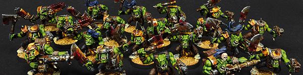 Ork Boyz Mob