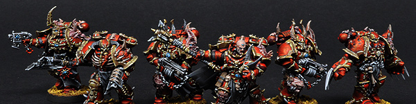 Chaos Space Marines Chosen Marines