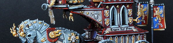 Volkmar the Grim on The War Altar of Sigmar