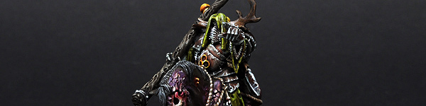 Nurgle Chaos Lord on Daemonic Mount