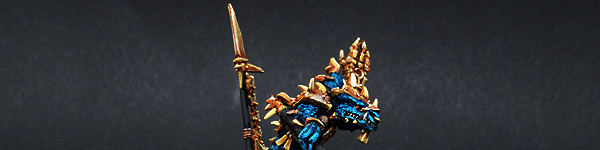 Lizardmen Ancient Scar Leader Kroq Gar