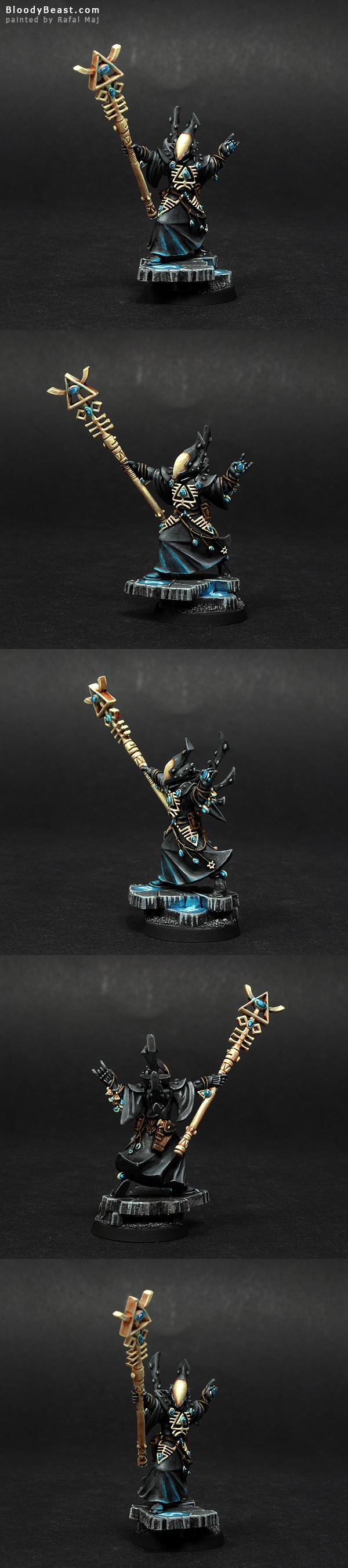 Eldar Ulthwe Spiritseer painted by Rafal Maj (BloodyBeast.com)