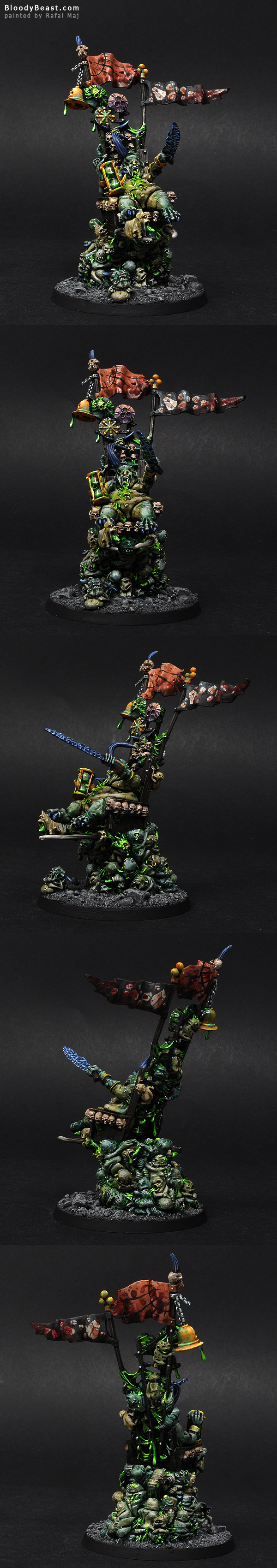 Epidemius painted by Rafal Maj (BloodyBeast.com)
