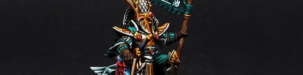 High Elves Sea Helm Battle Standard Bearer