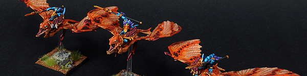 Lizardmen Ripperdactyl Riders
