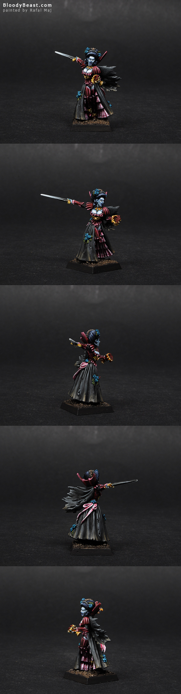 Vampire Counts Isabella Von Carstein painted by Rafal Maj (BloodyBeast.com)