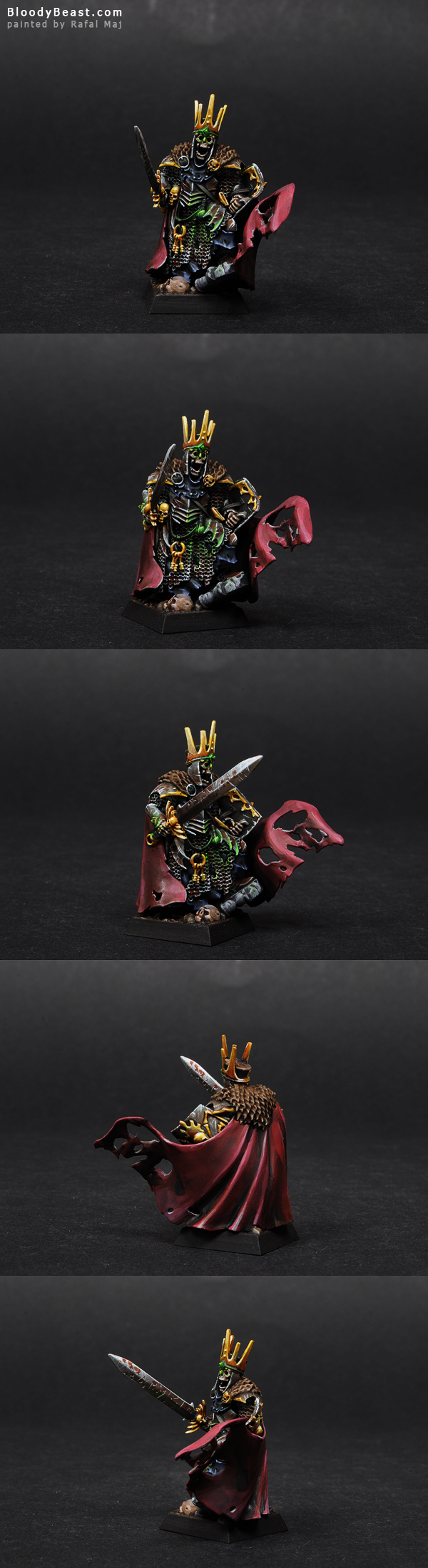 Vampire Counts Wight King painted by Rafal Maj (BloodyBeast.com)