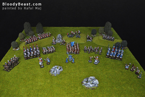 The Empire Army of Talabheim painted by Rafal Maj (BloodyBeast.com)