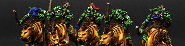 Savage Goblins Sabertusk Riders