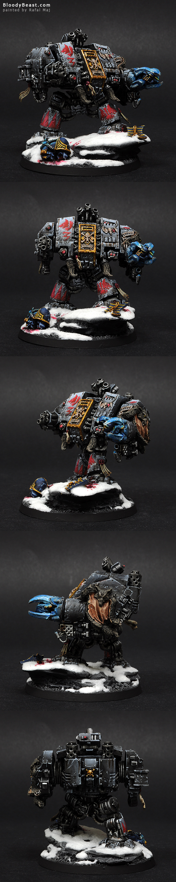 Space Wolves Bjorn The Fell-Handed painted by Rafal Maj (BloodyBeast.com)