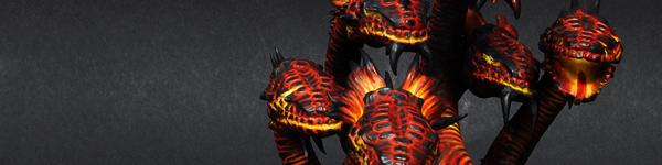 Dark Elves Fire War Hydra