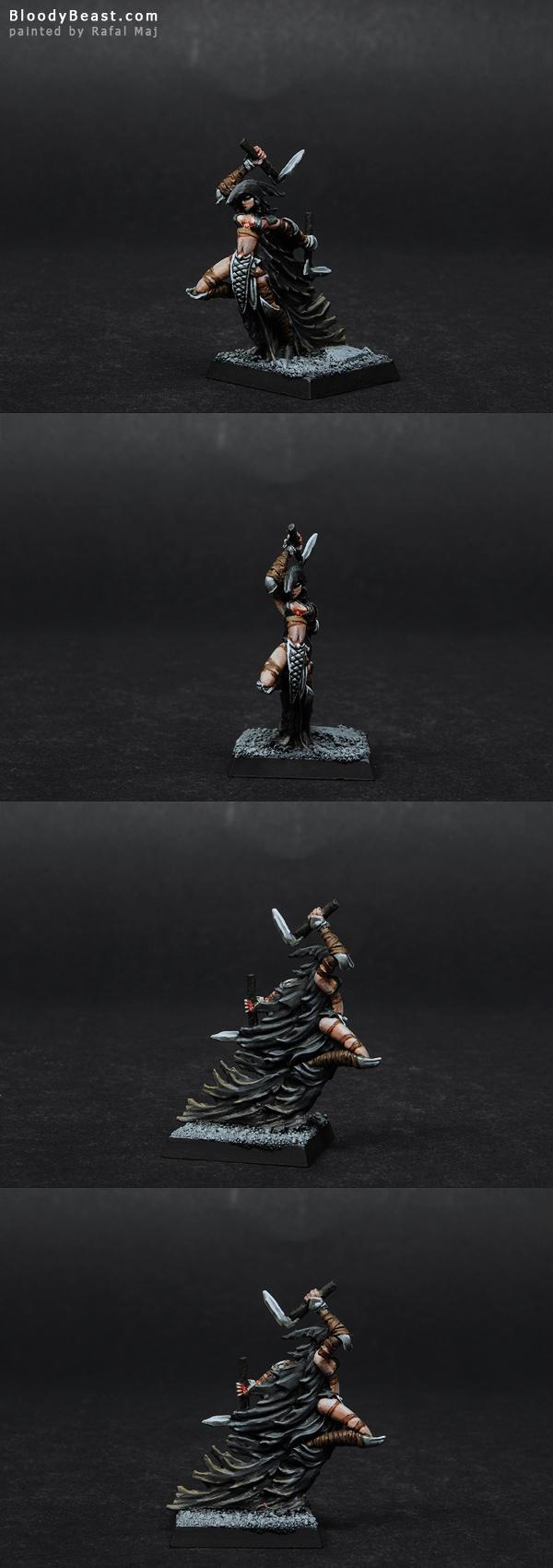 Darkreach Darkshade Raider painted by Rafal Maj (BloodyBeast.com)
