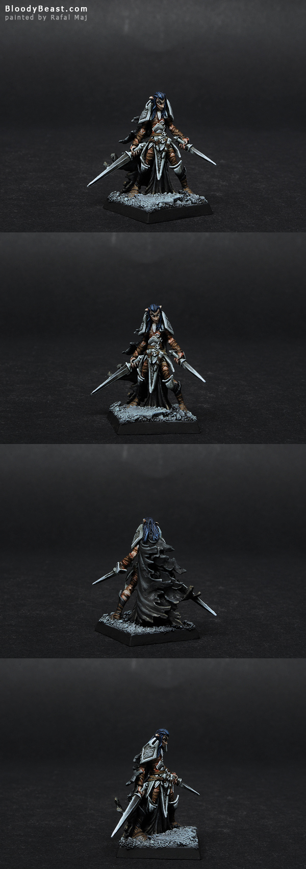 Darkreach Nightshade Warrior painted by Rafal Maj (BloodyBeast.com)