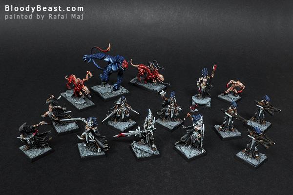 Darkreach Warband painted by Rafal Maj (BloodyBeast.com)