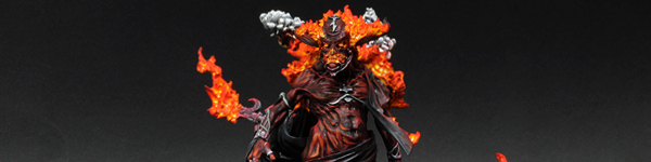 Incarnate Elemental Of Fire on Display Base