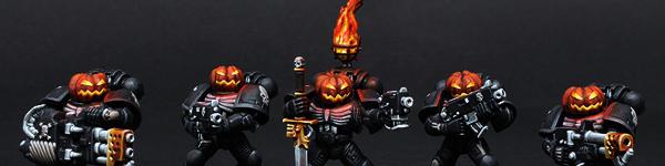 Legion Of The Damned Pumpkin