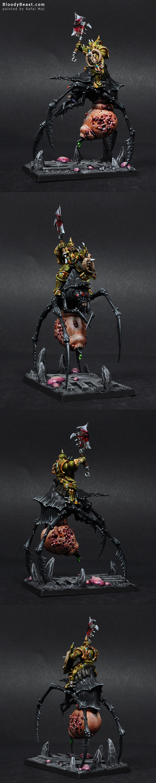 Skullcrusher of Nurgle painted by Rafal Maj (BloodyBeast.com)